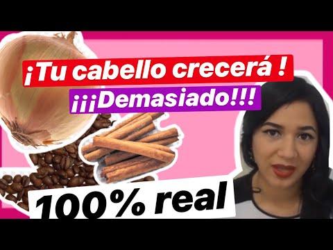 PRUEBA ÉSTE SHAMPOO Y TU CABELLO CRECERÁ! CEBOLLA,CAFÉ Y CANELA!