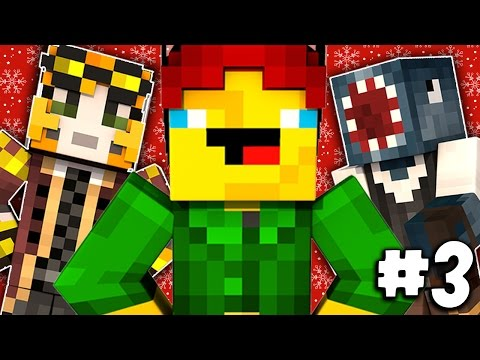Minecraft - TIME TRAVELLERS! - THE DERPY ELF! #3 W/Stamps & Ash!