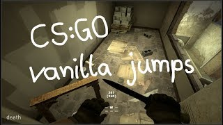 100+ CS:GO vanilla settings jumps (easy - death tier, nobind)