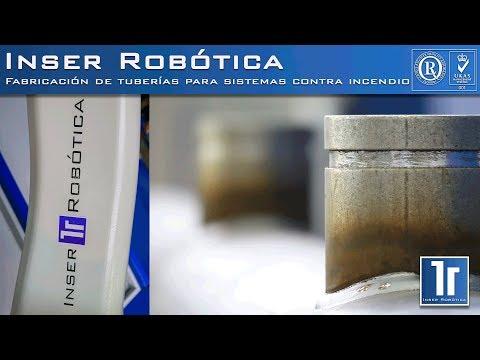 Fabricación automática de tuberías para sistemas contra incendios-