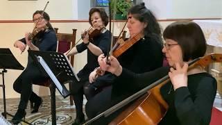 Air On A G String Suite No. 3 [Live Version] (J.S. Bach) Wedding String Quartet YouTube Thumbnail