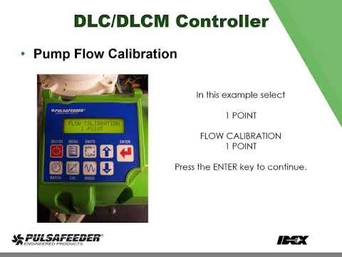 DLC DLCM Flow Calibration