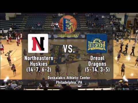 2014-15 DrexelDragons.tv Broadcast - Men's Basketball vs. Northeastern Full Game