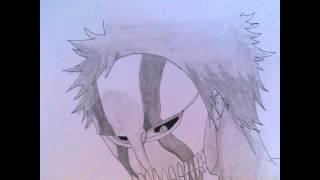 How to draw Kurosaki Ichigo Vizard mask 2