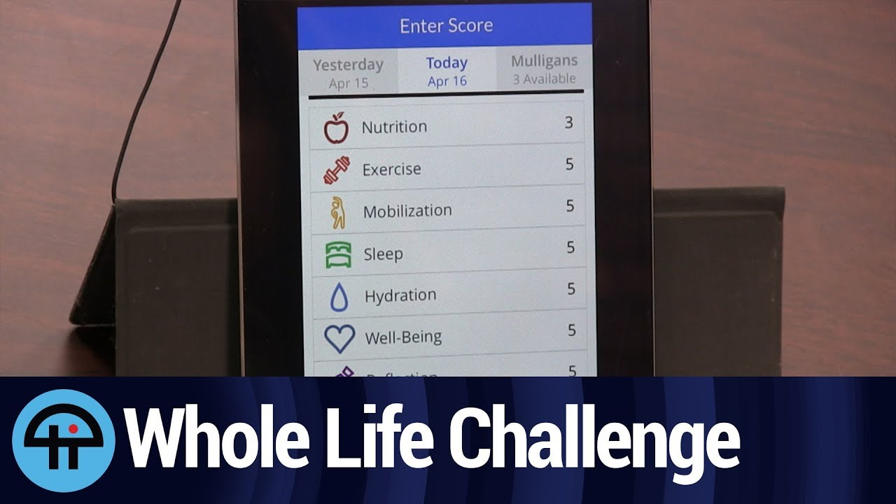 Whole life challenge review