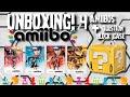 Unboxing Amiibo - Marth, Shulk, Ike e DK + Question Block Case