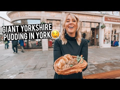 We Tried Yorkshire Pudding in York | Most Underrated Town in England