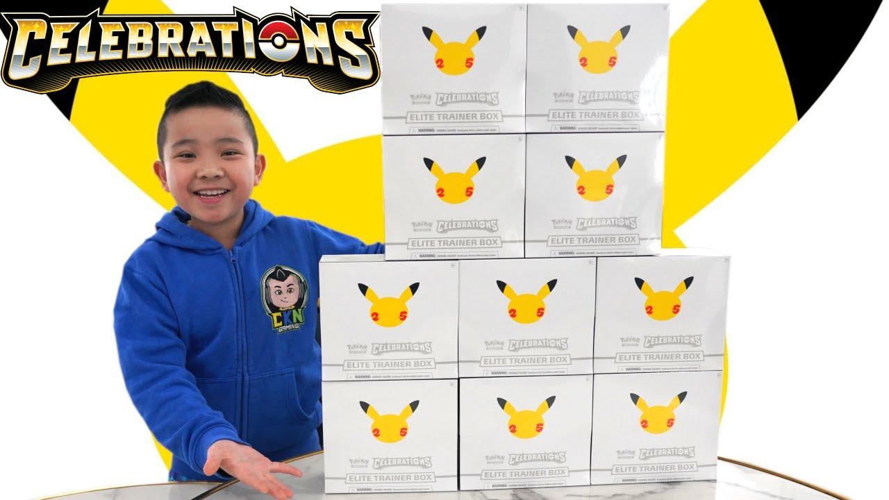 2 PIKACHU  in 1 Pack !! 25th Anniversary Pokemon Celebrations Calvin CKN
