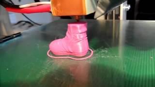 видео 3D-принтер для печати/строительства домов