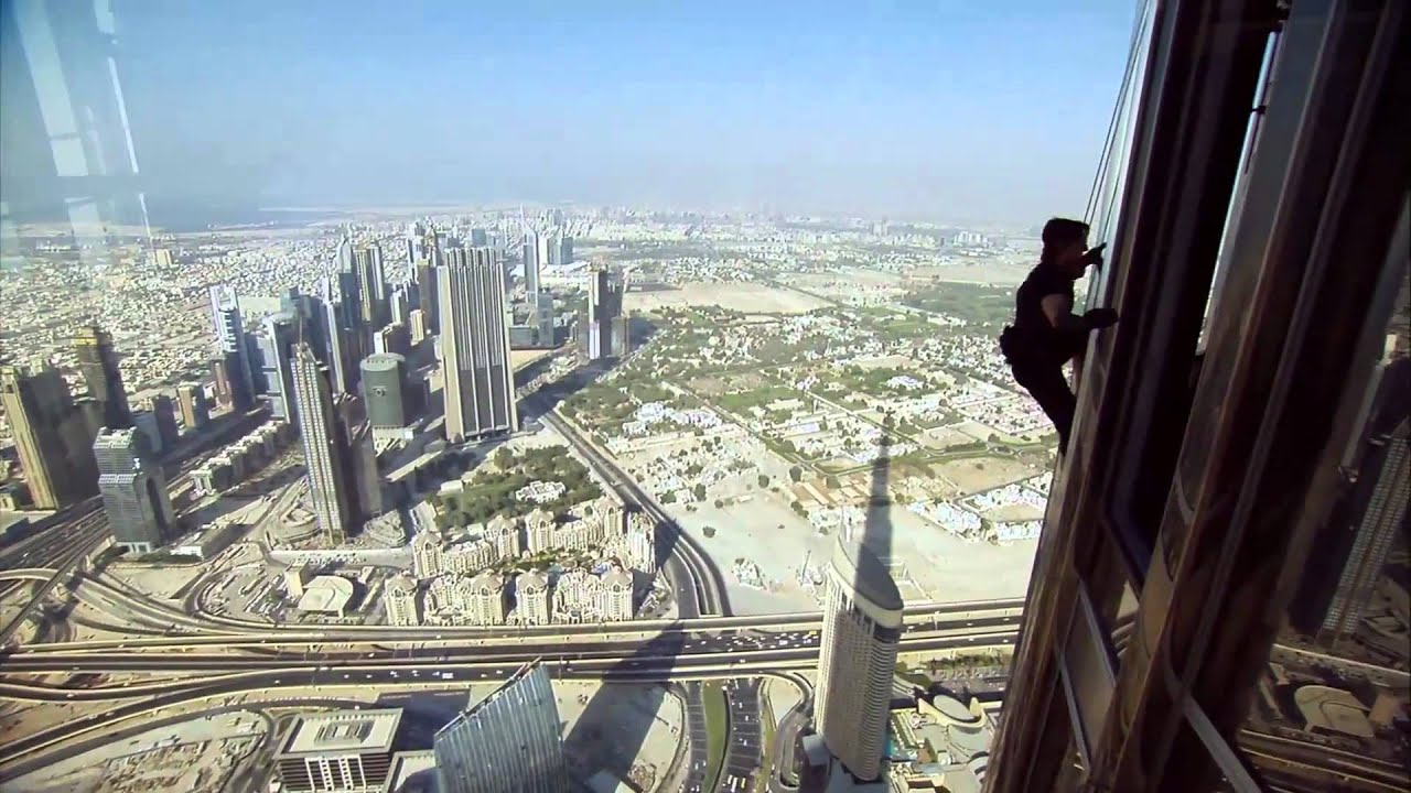 Tom Cruise Climbing Burj Khalifa Mi4 Making Youtube