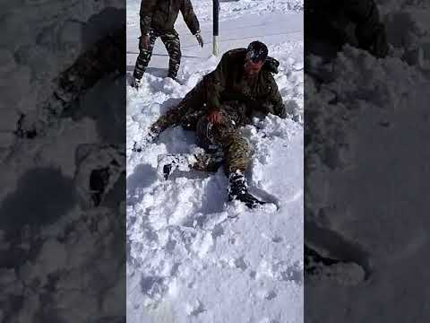 Funny Snowfall in kashmir Valley 2018