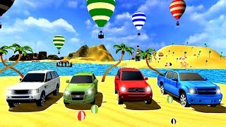 Beach surf car game Water surfing prado car drive - Android Gameplay HD #=2