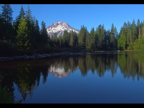 Mirror Lake & Mt Hood Scenic Forest