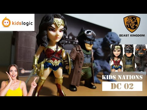 Kids Nations DC02 Dawn of Justice Wonder Woman Doomsday Kidslogic Unboxing