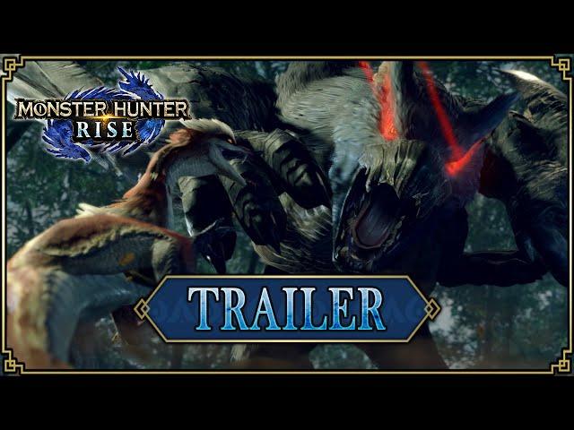 Monster Hunter Rise - Trailer #5 [Direct Feed]