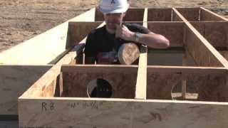 Detail #E1 / E1W - Trus Joist EWP Floor Installation Guide