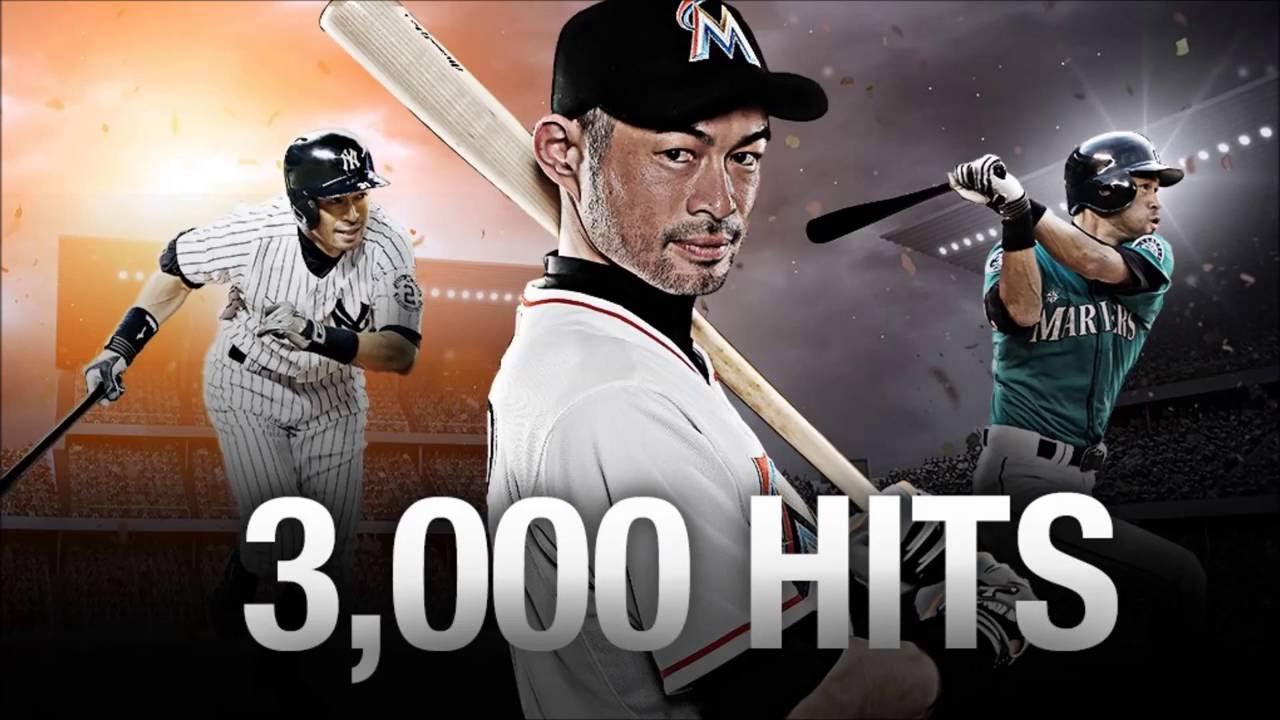 Ichiro Suzuki 3000 Hit Shoutout - YouTube