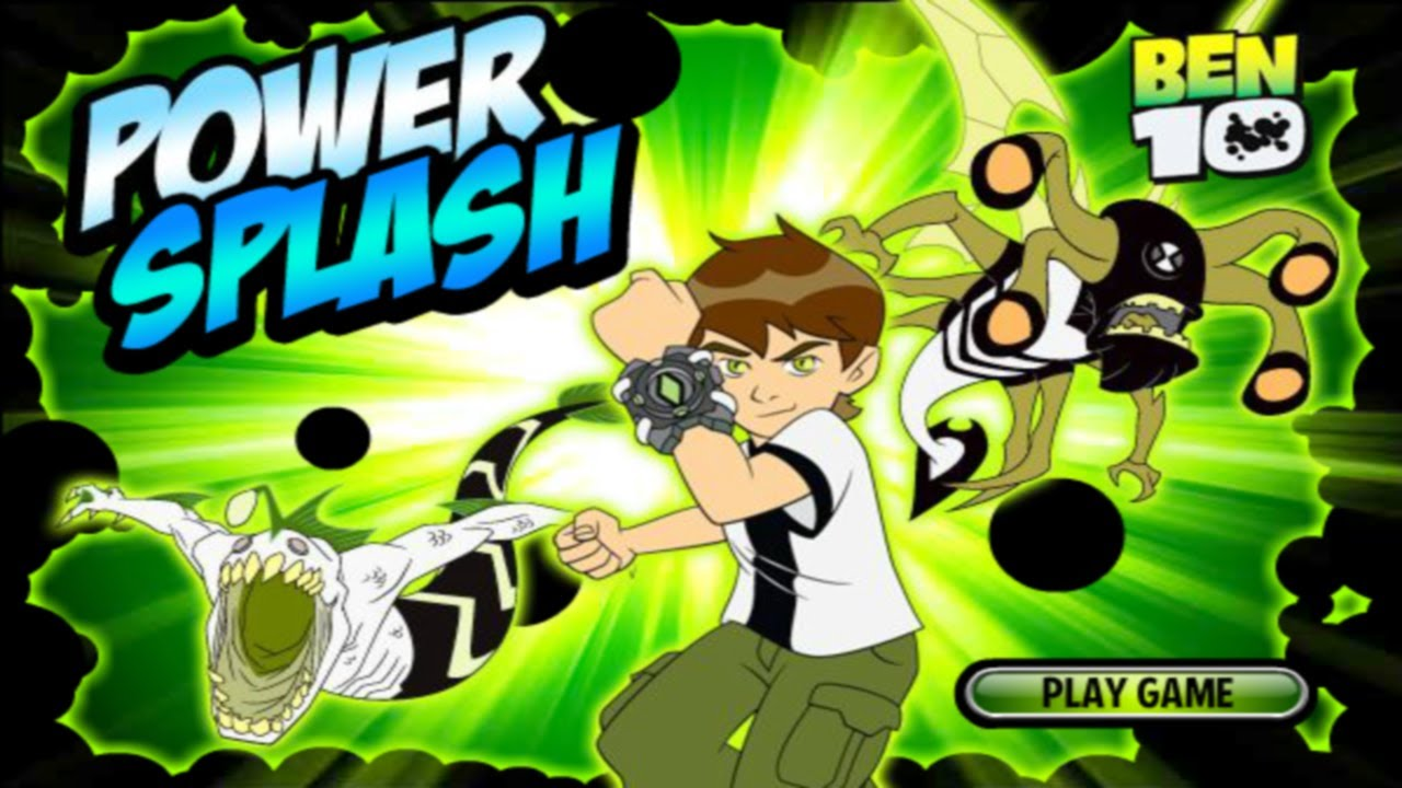 Cartoon Network Games: Ben 10 - Power Splash - YouTube
