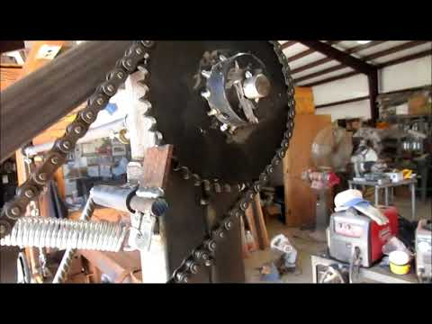 Homemade Sawmill Video Modifications Rebuild Ratchet Assembly and Height