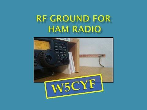 Ham Radio Station Grounding