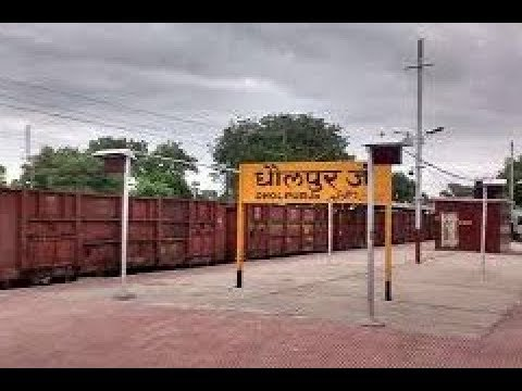 Bari to dholpur|| travel video || bari to dholpur by road - YouTube