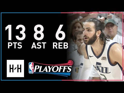 Ricky Rubio Full Full Game 4 Highlights Thunder vs Jazz 2018 Playoffs - 13 Pts, 8 Ast, 6 Reb!