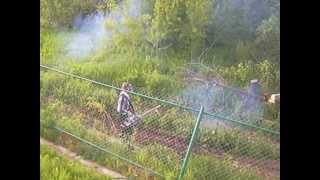 Обработка леса от клеща