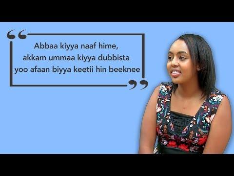Ijoollee Oromoo Ameerikaatti Dhalatanii fi Oromummaa