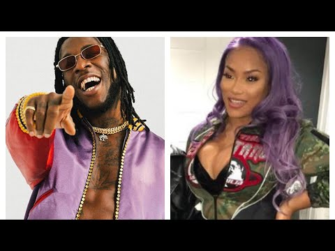Burna Boy reveals he is in a relationship with Stefflon Don.