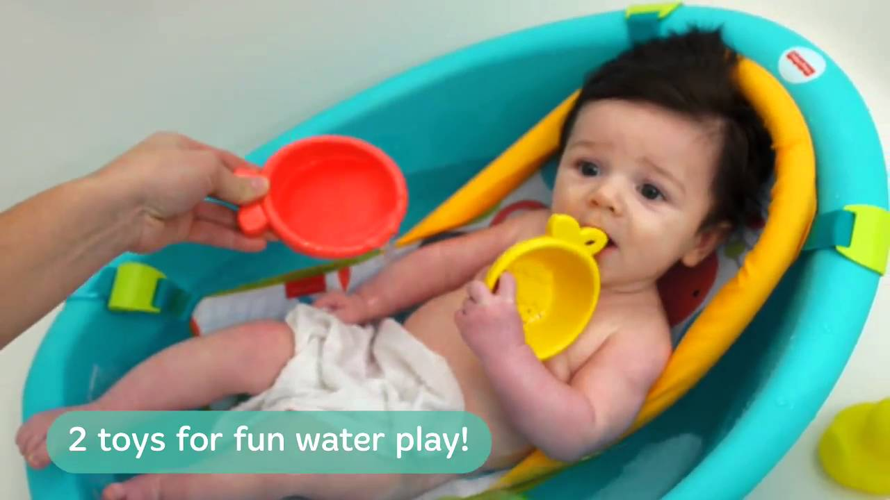 Smyths Toys - Fisher-Price Rinse and Grow Tub Video - YouTube