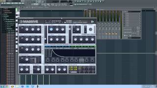 HOW TO CREATE NI MASSIVE AUTOMATION CLIPS IN FL STUDIO