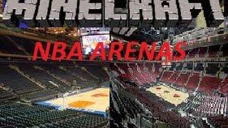 Minecraft Build Showcase EP.2 - NBA ARENAS