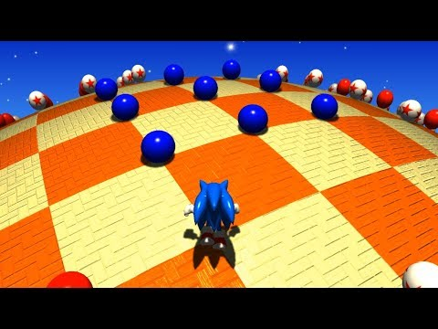 Blue Spheres Forever | Sonic Fan Games ⮚ Gameplay