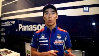 今季初ロードコースのアラバマでトップタイムをマークした佐藤琢磨のイ...