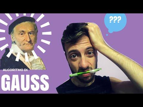 Algebra Lineare - Algoritmo di Gauss