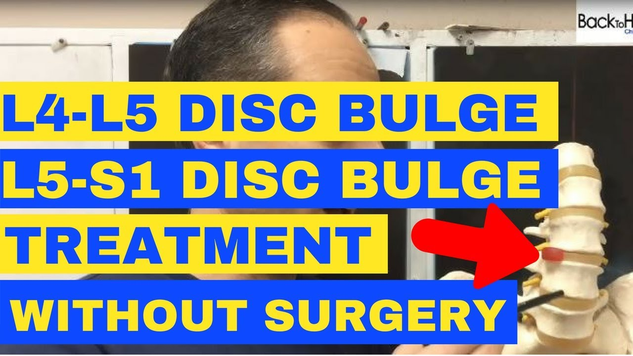 L4-L5 and L5-S1 Discs Bulge Treatment without Surgery - by Chiropractor in  Vaughan Dr  Walter