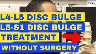 L4-L5 and L5-S1 Discs Bulge Treatment without Surgery - by Chiropractor in Vaughan Dr. Walter
