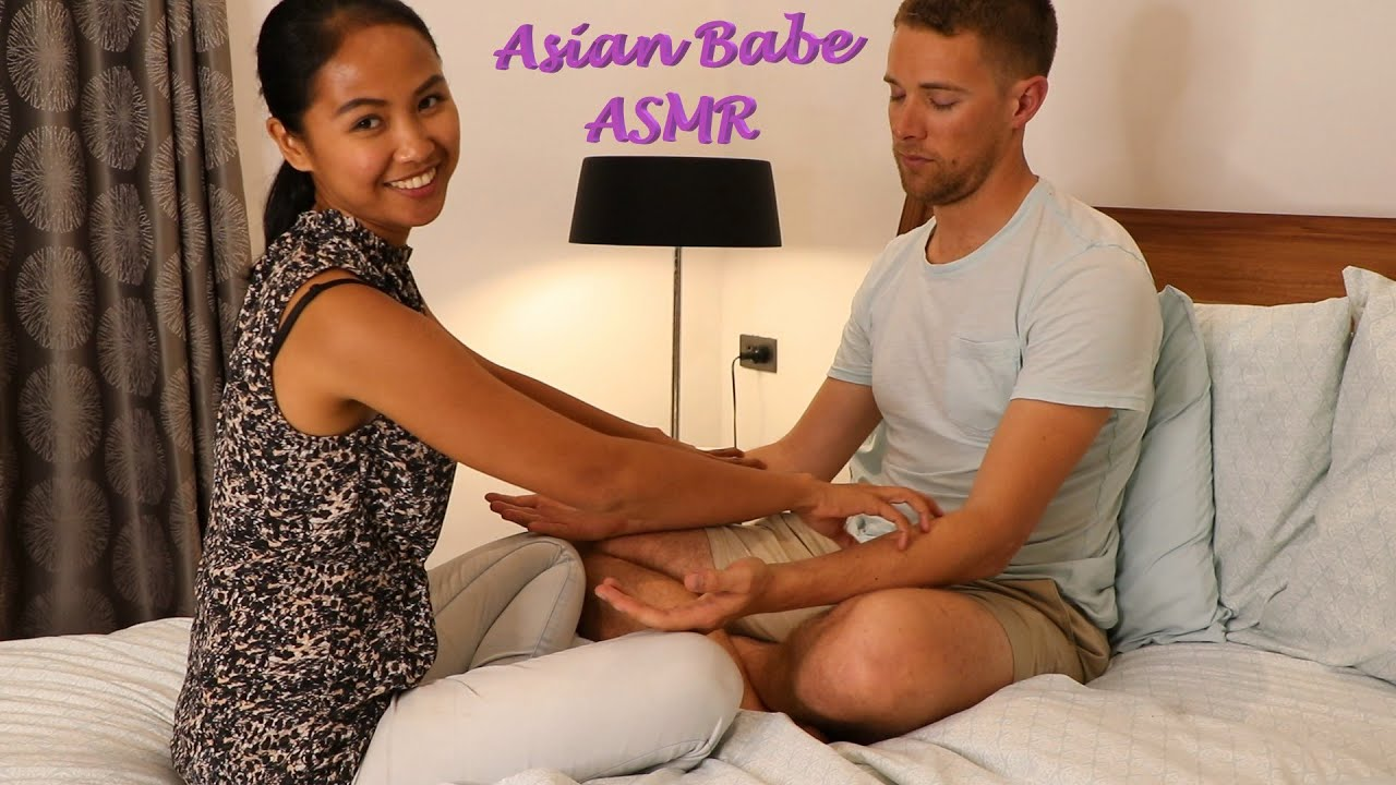 All Babe Massage asian babe asmr   gentle evening massage: lightly rubbing hands and arms