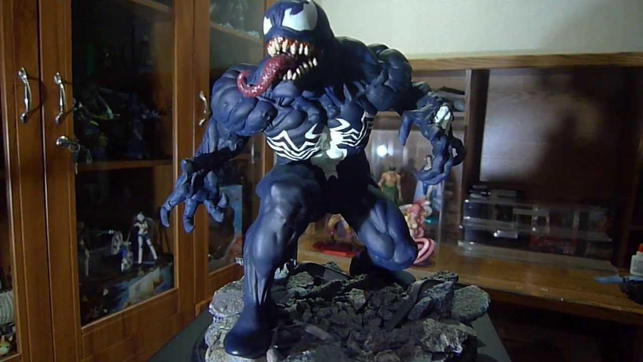 Spider Man 3d Live Wallpaper Kotobukiya Venom Fine Arts Statue Youtube