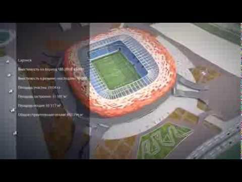 Стадионы к ЧМ-2018. Какими они будут