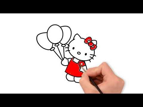 81 Gambar Mewarnai Hello Kitty Cantik Paling Hist