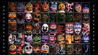 [SFM/FNAF] FNAF6 Ultimate Custom Night ALL ANIMATRONICS  Jumpscares Animated 😱