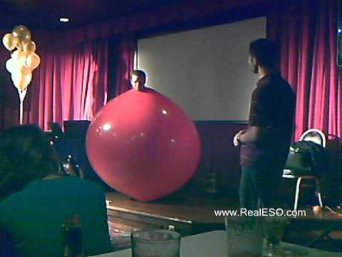 lage ballong mann