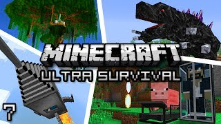 Minecraft: Ultra Modded Survival Ep. 7 - ORE COLLECTOR