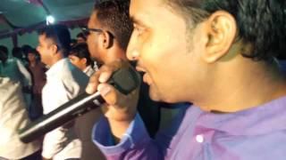 Performing by Rajasthani panihari folk music group    Roje khan
