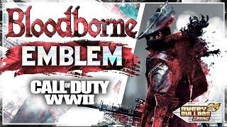 COD-WWll BLOODBORNE EMBLEM TUTORIAL │ THE HUNTER │ 1080P