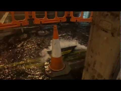 Water leakage in Glasgow City Center