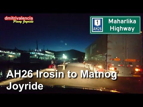 Pinoy Joyride - AH26 Irosin to Matnog Sorsogon Dusk Joyride