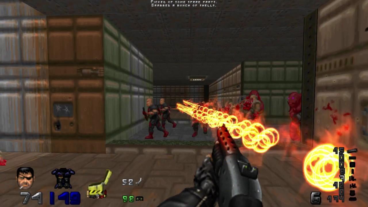 Echelon [Doom 2 wad /w Trailblazer mod]