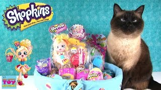 Shopkins Surprise Easter Basket Opening Shoppies Season 1 Egg | PSToyReviews
